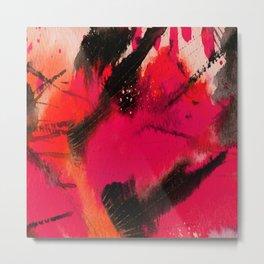 Art Abstraction 3C by Kathy Morton Stanion Metal Print