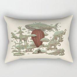 Cloud Watching  Rectangular Pillow