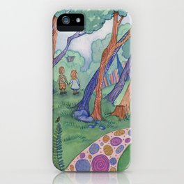 The Witch's House iPhone Case