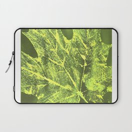 Eco botanical art print Laptop Sleeve