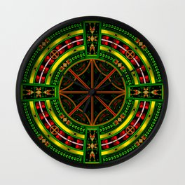 Bear Medicine Wall Clock