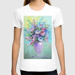 Bouquet of summer flowers T-shirt