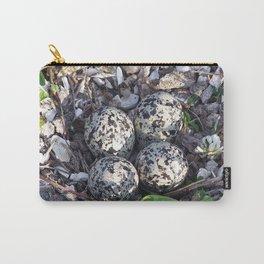 Killdeer eggs in nest Carry-All Pouch
