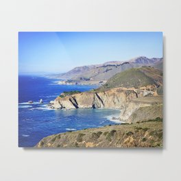 Bixby Creek Bridge in Big Sur Metal Print