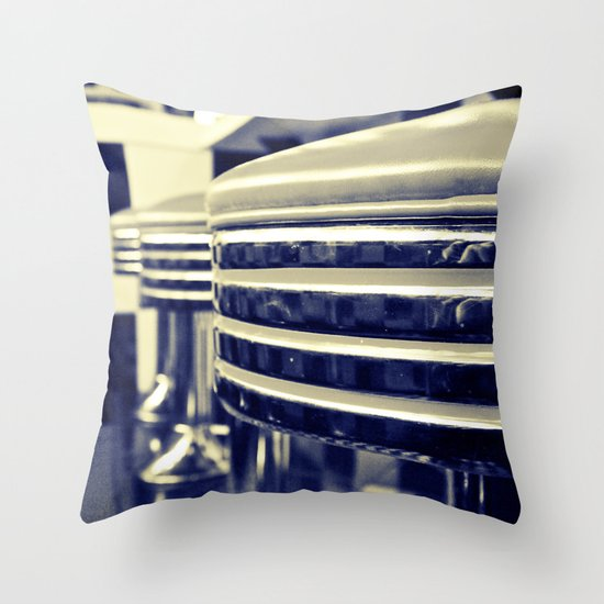 Classic cafe Throw Pillow