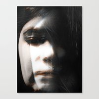 hologram Canvas Prints featuring Hologram by Tiana LeBlanc