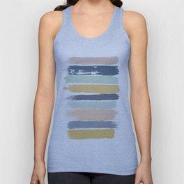 Pastel Stripes Unisex Tank Top