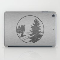 hiking iPad Cases featuring Hiking by Paul Simms