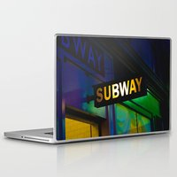 subway Laptop & iPad Skins featuring Subway by Mark Spence