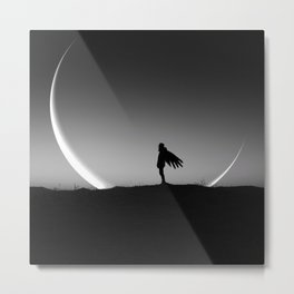 It Gives you Wings - New moon art Metal Print
