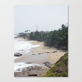 Untouched African Sands Canvas Print