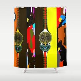 La Fuerza del Destino Shower Curtain