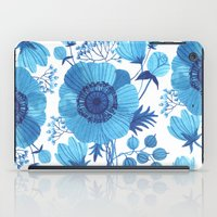 blues iPad Cases featuring BLUES by Oana Befort