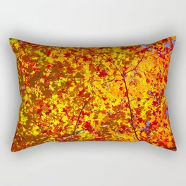 Blazing Fall Canopy Rectangular Pillow