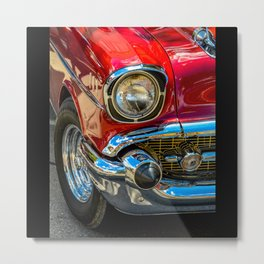 Red Cruise by Teresa Thompson Metal Print