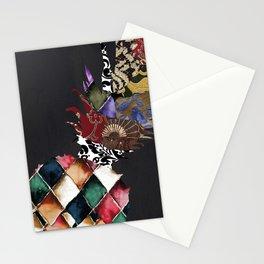 Pineapple Brocade II Stationery Cards
