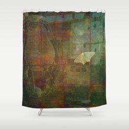 3s26x4pia14844 HD Star Mothlight Shower Curtain