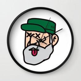 Fidel Castro is DEAD! Wall Clock