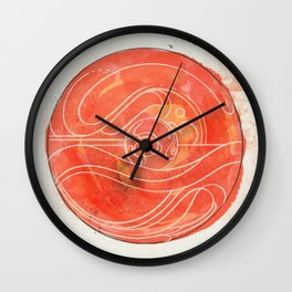 Enough to Go Around Wall Clock