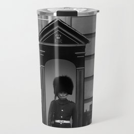 Beefeater Guard at Buckingham Palace Travel Mug