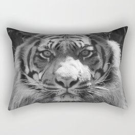 The eye of the tiger Rectangular Pillow