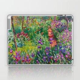 "Claude Monet ""The Iris Garden at Giverny"", 1899-1900 Laptop & iPad Skin"