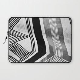 Modern Zebra Abstract Laptop Sleeve