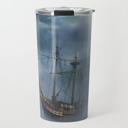 Sailing in the Dark Seas Travel Mug