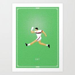 Raí (SPFC) - Forward thinker Art Print