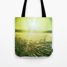 Lac des Pins Tote Bag