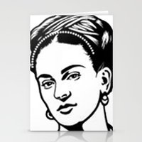 frida Stationery Cards featuring Frida  by b & c