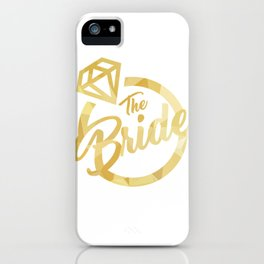 The Bride iPhone Case