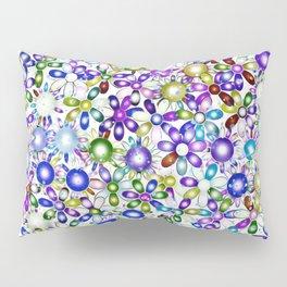 Vivid floral pattern 4181B Pillow Sham