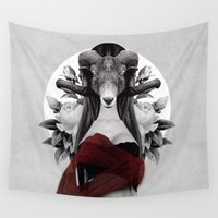 evolution Wall Tapestries featuring Proud Evolution by Peg Essert