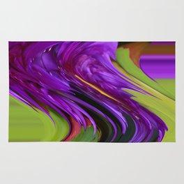 Violet Swirl Rug
