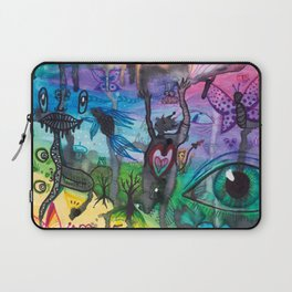 Collage by Aly Stinson Laptop Sleeve