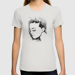 Portrait  (Ink Painting) T-shirt