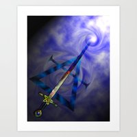 Sword Of Air Art Print