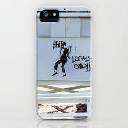 Michael says Beat It! iPhone Case