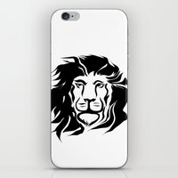 the lion king iPhone & iPod Skins featuring Lion King by Alexandr-Az