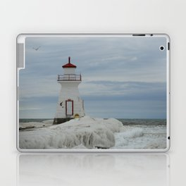 Frozen Lighthouse Laptop & iPad Skin