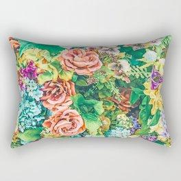 Vintage Garden #digital #nature Rectangular Pillow