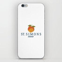 St. Simons Island - Georgia. iPhone Skin