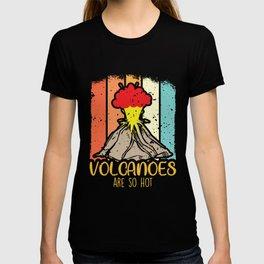 Volcano science Volcanoes Lawa Hot explosion T-shirt