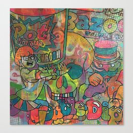start me up by Barrie J Davies 2015 Canvas Print