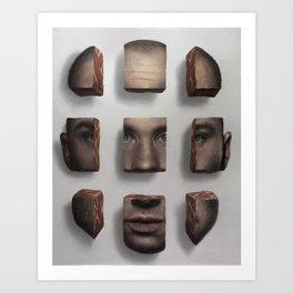Raw Art Print