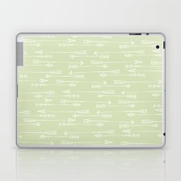 Follow the arrow Laptop & iPad Skin