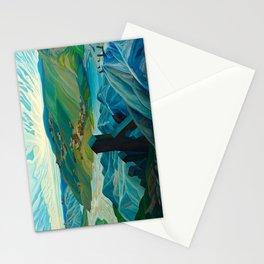 Canadian Landscape Franklin Carmichael Art Nouveau Post-Impressionism A Northern Silver Mine, 1930 Stationery Cards