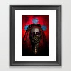 The Answerphone Framed Art Print