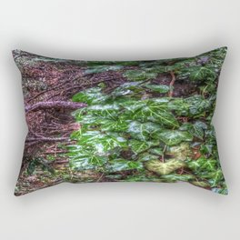 Gnarled vines & Ivy on a Misty Day Rectangular Pillow